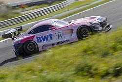 April 14, 2018 - Estoril, Estoril, Portugal - Mercedes AMG GT3 of HTP Motorsport / MS Racing driven by Alexander Hrachowina and Martin Konrad during Race 1 of International GT Open, at the Circuit de Estoril, Portugal, on April 14, 2018. (Credit Image: © Dpi/NurPhoto via ZUMA Press)