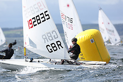 Day 4 NeilPryde Laser National Championships 2014 held at Largs Sailing Club, Scotland from the 10th-17th August.<br /> <br /> 192835, Ross SLATER<br /> <br /> Image Credit Marc Turner