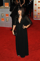 LONDON - FEBRUARY 12: Claudia Winkleman attends the Orange British Academy Film Awards at the Royal Opera House, Covent Garden, London, UK on February 12, 2012. (Photo by Richard Goldschmidt)