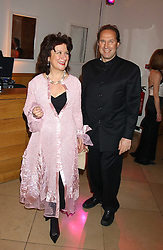 BARONESS HELENA KENNEDY and her husband DR IAIN HUTCHISON at a fundraising gala to celebrate 150 years of The National Portrait Gallery, at the NPG, St.Martin's Place, London on 28th February 2006.<br /><br />NON EXCLUSIVE - WORLD RIGHTS