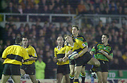 Northampton, Northamptonshire, UK, 08.12.2001, Wasps, Josh LEWSEY,   during the, Northampton Saints vs  London Wasps, Zurich Premiership Rugby, Franklyn Gardens, [Mandatory Credit: Peter Spurrier/Intersport Images]