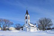 St. George Romanian Orthodox Church<br /> Dysart<br /> Saskatchewan<br /> Canada