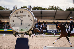 Longines watch<br /> World Championship Young Dressage Horses - Ermelo 2019<br /> © Hippo Foto - Dirk Caremans<br /> Longines watch