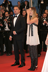"""72th Film Festival of Cannes 2019 - Red Carpet of """"Once Upon a time ..... in Hollywood"""". 21 May 2019 Pictured: Leonardo DiCaprio, Quentin Tarantino, Brad Pitt. 72th Film Festival of Cannes 2019 - Red Carpet of """"Once Upon a time ..... in Hollywood"""".Pictures: Laurent Guerin / EliotPress Set ID: 601071. Photo credit: Eliot Press / ELIOTPRESS / MEGA TheMegaAgency.com +1 888 505 6342"""