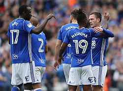 Birmingham City's Craig Gardner celebrates scoring against Bristol City with his team mates