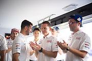 June 10-16, 2019: 24 hours of Le Mans. 7 Mike Conway, Toyota Gazoo Racing, TOYOTA TS050 - HYBRID, Toshio Sato, Toyota TMG President