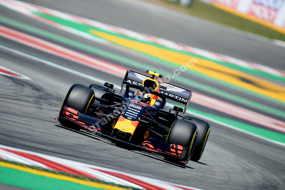 Pierre Gasly (Red Bull-Honda) during practice before the 2019 Spanish Grand Prix at the Circuit de Barcelona-Catalunya. Photo: Grand Prix Photo