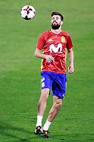 Spain's Gerard Pique during training session. October 5,2017.(ALTERPHOTOS/Acero)