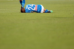 April 29, 2018 - Florence, Florence, Italy - 29th April 2018, Stadio Artemio Franchi, Florence, Italy; Serie A Football, Fiorentina versus Napoli; Lorenzo Insigne of Napoli lies on the pitch after being injured  Credit: Giampiero Sposito/Pacific Press (Credit Image: © Giampiero Sposito/Pacific Press via ZUMA Wire)