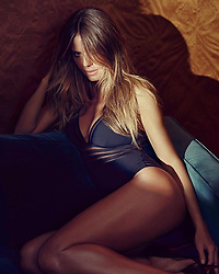 """Heidi Klum releases a photo on Instagram with the following caption: """"Lazy Saturday in @heidiklumintimates #ad"""". Photo Credit: Instagram *** No USA Distribution *** For Editorial Use Only *** Not to be Published in Books or Photo Books ***  Please note: Fees charged by the agency are for the agency's services only, and do not, nor are they intended to, convey to the user any ownership of Copyright or License in the material. The agency does not claim any ownership including but not limited to Copyright or License in the attached material. By publishing this material you expressly agree to indemnify and to hold the agency and its directors, shareholders and employees harmless from any loss, claims, damages, demands, expenses (including legal fees), or any causes of action or allegation against the agency arising out of or connected in any way with publication of the material."""