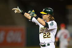 20150429 - Los Angeles Angels of Anaheim at Oakland Athletics