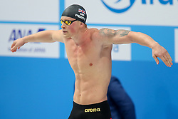 July 26, 2017 - Budapest, Hungary - Great Britain's Adam Peaty during  the men's 50m breaststroke final during the swimming competition at the 2017 FINA World Championships in Budapest, on July 26, 2017. (Credit Image: © Foto Olimpik/NurPhoto via ZUMA Press)