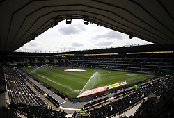 General view of the iPro Stadium before the match - Mandatory by-line: Jack Phillips/JMP - 09/04/2016 - FOOTBALL - iPro Stadium - Derby, England - Derby County v Bolton Wanderers - Sky Bet Championship