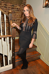 TAMARA ECCLESTONE at a party to celebrate the publication of The Stylist by Rosie Nixon held at Soho House, London on 10th February 2016.