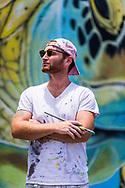 Muralist Cody B. Monaghan