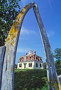Edward Penniman House and Barn, Fort Hill, Eastham. Cape Cod, Massachusetts, USA