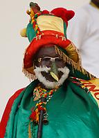 Photo: Steve Bond/Richard Lane Photography.<br /> Ivory Coast v Benin. Africa Cup of Nations. 25/01/2008. Benin fan