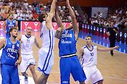 CHOMUTOV 18 AGOSTO 2012<br /> BASKET FIP NAZIONALE ITALIANA<br /> ITALIA - REPUBBLICA CECA<br /> NELLA FOTO GALLINARI<br /> FOTO CIAMILLO