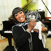 Patti LaBelle during the taping of his upcoming network series On the Record with Mick Rock,  premiering on Ovation TV. (Photo by Lisa Lake/Getty Images for Ovation TV)