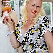 NLD/Amsterdam/20100630 - Silk Fashion & Business Summer Event, Monique Sluyter