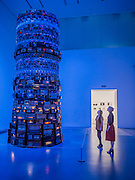 'Babel' by Cildo Meireles - The new Tate Modern will open to the public on Friday 17 June. The new Switch House building is designed by architects Herzog & de Meuron, who also designed the original conversion of the Bankside Power Station in 2000.