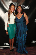 October 19, 2012-New York, NY: (L-R) Entreprenuer/Designer Angela Simmons and Gail Perry, President, BRAG at the BRAG 42nd Annual Scholarship & Scholarship Awards Dinner Gala held at Pier Sixty at Chelsea Piers on October 19, 2012 in New York City. BRAG, a 501 (c) (3) not for profit organization, is dedicated to the inclusion of African Americans and all people of color in retail and related industries.  (Terrence Jennings)