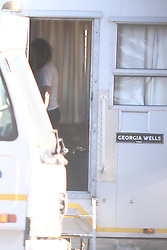 Kate Beckinsale seen on set of the Widow. She's currently filming the TV series in Cape Town