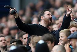16th September 2017 - Premier League - West Bromwich Albion v West Ham United - A West Ham fan waves a black dildo - Photo: Simon Stacpoole / Offside.