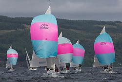 Silvers Marine Scottish Series 2017<br /> Tarbert Loch Fyne - Sailing Day 3<br /> <br /> GBR7061N, Rammie, M Fleming/D Smith, ASYC