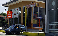 March 23, 2019 - Valencia, Carabobo, Venezuela - March 23, 2019. The Mc Donalds of the Guaparo redoma, is one of the many restaurants of the well-known fast food chain that decided to close its doors due to the economic crisis that exists in Venezuela. Photo: Juan Carlos Hernandez. (Credit Image: © Juan Carlos Hernandez/ZUMA Wire)