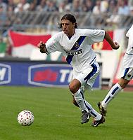 Piacenza 6 Ottobre 2002<br />Piacenza - Inter 1-4<br />Hernan Crespo