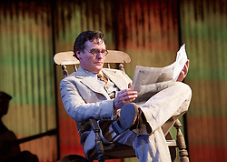 To Kill a Mockingbird <br /> by Harper Lee <br /> at The Barbican Theatre, London, Great Britain <br /> rehearsal <br /> 25th June 2015 <br /> <br /> Robert Sean Leonard as Atticus Finch<br /> <br /> Photograph by Elliott Franks <br /> Image licensed to Elliott Franks Photography Services