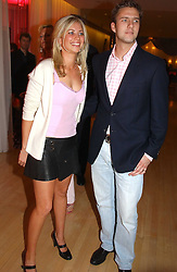 HOLLY BRANSON and  at the annual Laurent Perrier Pink Party held at The Sanderson Hotel, Berners Street, London on 27th April 2005.<br /><br />NON EXCLUSIVE - WORLD RIGHTS