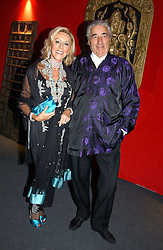 """MR & MRS DAVID MORRIS he is the jeweller,  at the 10th annual British Red Cross London Ball.  This years ball theme was Indian based - """"Yaksha - Yakshi: Doorkeepers to the Divine"""" and was held at The Room, Upper Ground, London on 1st December 2004.  Proceeds from the ball will aid vital humanitarian work, including HIV/AIDS projects that the Red Cross supports in the UK and overseas.<br /><br />NON EXCLUSIVE - WORLD RIGHTS"""