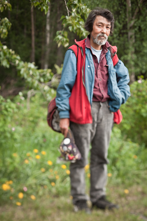 Originally from Nome, Albert A. Johnson is now homeless and living in Anchorage.  Albert is Inupiaq and Yup'ik Eskimo.