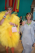 GRAYSON PERRY; PHILIPPA PERRY, Royal Academy Summer exhibition private view. Piccadilly. London. 3 June 2015