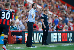 Aston Villa Manager Tim Sherwood shouts orders from the sideline - Mandatory by-line: Jason Brown/JMP - Mobile 07966 386802 08/08/2015 - FOOTBALL - Bournemouth, Vitality Stadium - AFC Bournemouth v Aston Villa - Barclays Premier League - Season opener