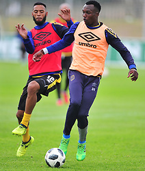 Cape Town--180329 Cape Town City midfielder Sibusiso Masina at training preparing for heir Nedbank Cup game against Sundowns on sunday  .Photographer;Phando Jikelo/African News Agency/ANA