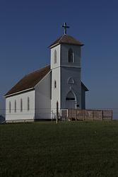 Bendon Church and Museum - built by Czech Pioneers in 1893 in South Dakota