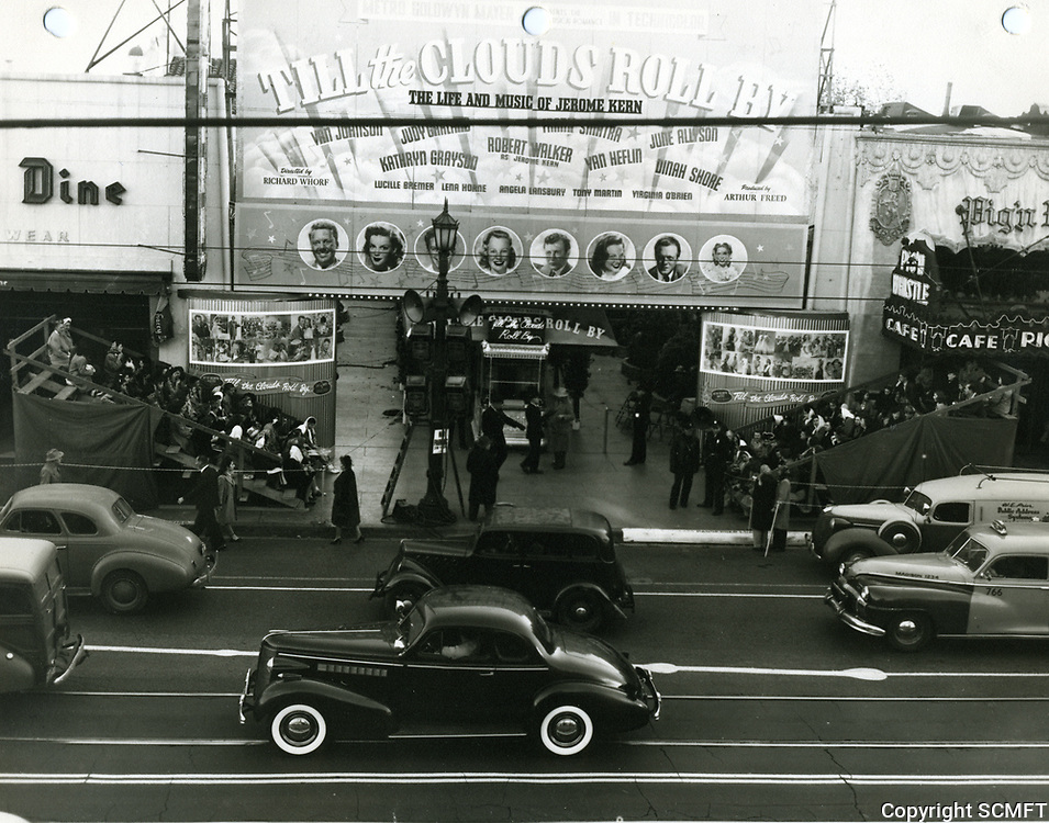 1946 Premiere of Till the Clouds Roll By at Grauman's Egyptian Theater