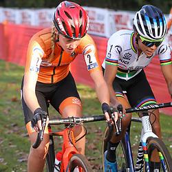 07-11-2020: Wielrennen: EK Veldrijden: Rosmalen<br />Battle for the title between Annemarie Worst and Ceylin Alvarado