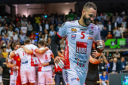 18-05-2019 GER: CEV CL Super Finals Zenit Kazan - Cucine Lube Civitanova, Berlin<br /> Civitanova win the Champions League by beating Zenit in four sets / Osmany Juantorena Portuondo #5 of Cucine Lube Civitanova