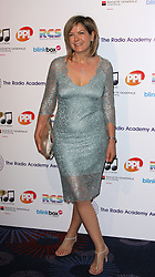 PENNY SMITH arrives for the Radio Academy Awards, London, United Kingdom. Monday, 12th May 2014. Picture by i-Images