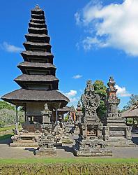 23.07.2014, Bali, IDN, Natur und Sehenswuerdigkeiten in Indonesien, im Bild Pagoden und Gebetsplaetze des Tempels Pura Taman Ayun, Balis zweit wichtigster Tempel und nationales Heiligtum der Indonesier, Bali, Indonesien. EXPA Pictures © 2014, PhotoCredit: EXPA/ Eibner-Pressefoto/ Schulz<br /> <br /> *****ATTENTION - OUT of GER*****