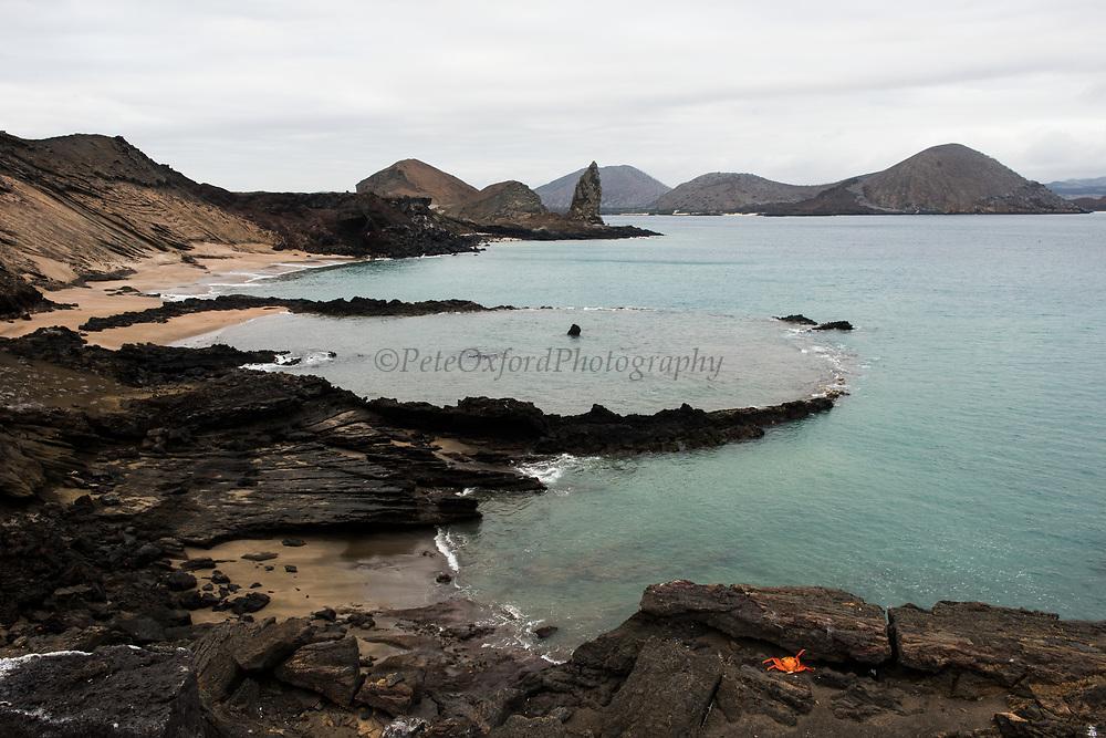 Scenic of Pinnacle Rock<br /> Bartolome Island<br /> Galapagos<br /> Ecuador, South America