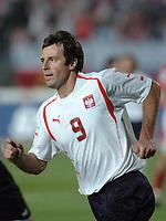 Fotball<br /> VM-kvalifisering<br /> 03.09.2005<br /> Polen v Østerrike<br /> Foto: Wrofoto/Digitalsport<br /> NORWAY ONLY<br /> <br /> MACIEJ ZURAWSKI celebrates scoring goal for Poland