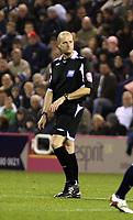 Photo: Mark Stephenson.<br /> West Bromwich Albion v Blackpool. Coca Cola Championship. 23/10/2007.Referee Mr M S Pike