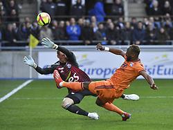 March 9, 2019 - Strasbourg, France - Dembele vs Sels (Credit Image: © Panoramic via ZUMA Press)