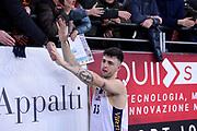 Tommaso Baldasso<br /> Virtus Roma - Bergamo<br /> Campionato Basket LNP 2018/2019<br /> Roma 20/01/2019<br /> Foto Gennaro Masi / Ciamillo-Castoria
