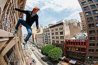 The Real SpiderMan Nicholas overlooks LA